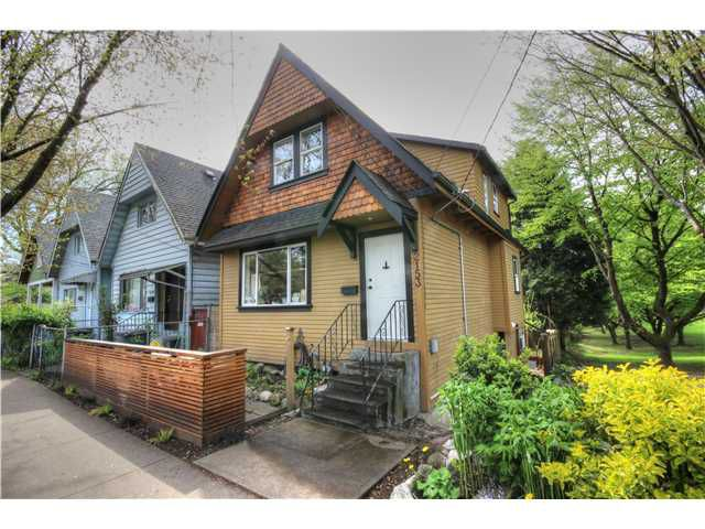 Main Photo: 2153 VICTORIA DR in Vancouver: Grandview VE House for sale (Vancouver East)  : MLS®# V1060841