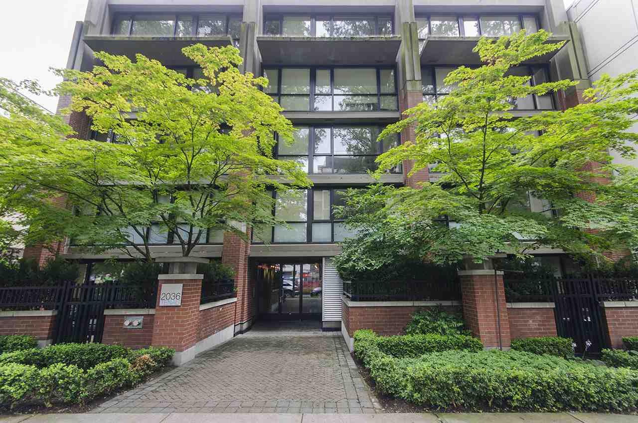 Main Photo: 305 2036 W 10TH AVENUE in Vancouver: Kitsilano Condo for sale (Vancouver West)  : MLS®# R2089487
