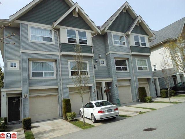 "Main Photo: 50 15065 58TH Avenue in Surrey: Sullivan Station Townhouse for sale in ""Springhill Complex"" : MLS®# F1210016"