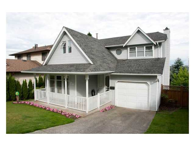 Main Photo: 115 WARRICK Street in Coquitlam: Cape Horn House for sale : MLS®# V959649