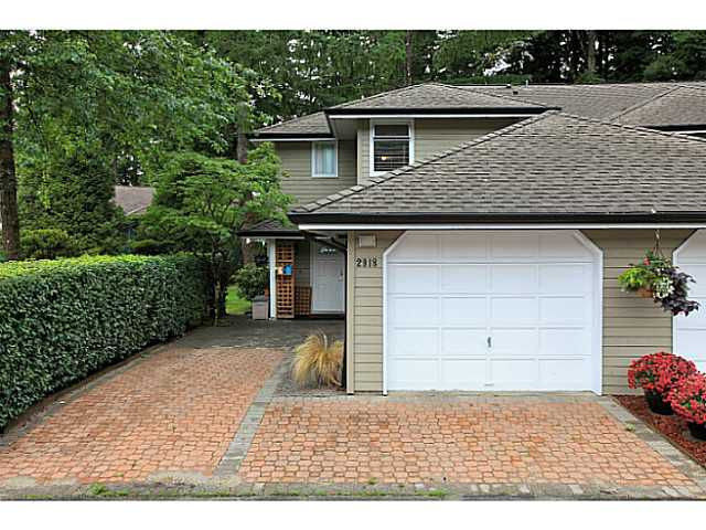 Main Photo: 2918 Mt Seymour Parkway in : Northlands Townhouse for sale (North Vancouver)  : MLS®# v1028067
