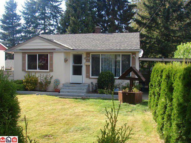 Main Photo: 13737 Grosvenor Street in SURREY: Bolivar Heights House for sale (Surrey)  : MLS®# F1022528