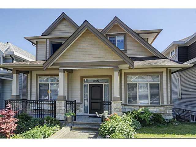 Main Photo: 3422 GISLASON Avenue in Coquitlam: Burke Mountain House for sale : MLS®# V1074935