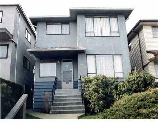 Main Photo: 4661 FRASER ST in : Fraser VE House for sale : MLS®# V287747