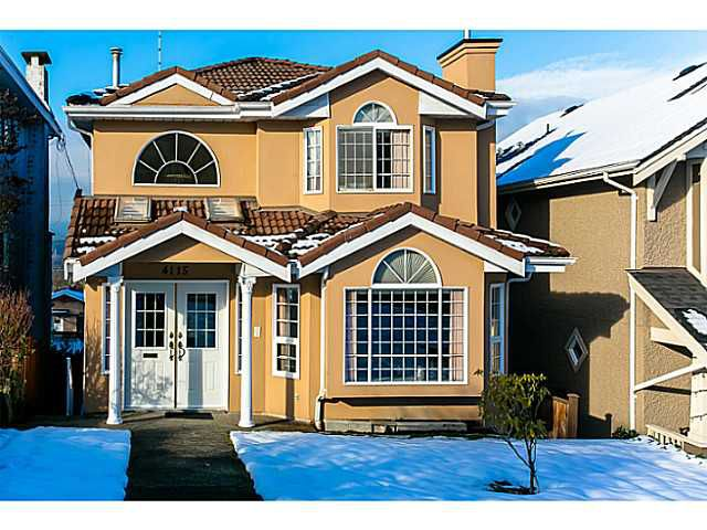 Main Photo: 4115 McGill Street in Burnaby North: Vancouver Heights House for sale : MLS®# V1049333