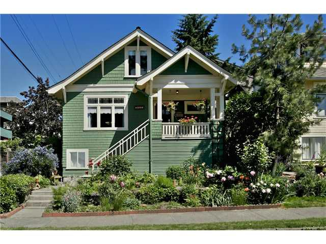 Main Photo: 1332 WOODLAND DR in Vancouver: Grandview VE House for sale (Vancouver East)  : MLS®# V1072084