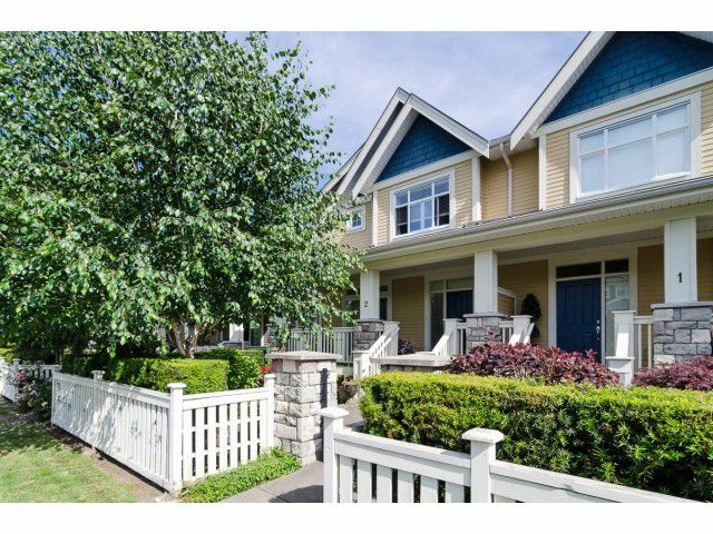 Main Photo: # 2 15237 36TH AV in Surrey: Morgan Creek House Duplex for sale (South Surrey White Rock)  : MLS®# F1416342