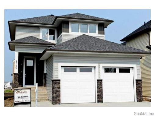 Main Photo: 4240 ALBULET DRIVE in Regina: Harbour Landing Single Family Dwelling for sale (Regina Area 05)  : MLS®# 558747