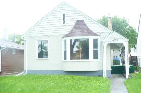 Main Photo: 429 INKSTER BLVD in Winnipeg: Residential for sale (Canada)  : MLS®# 1012512