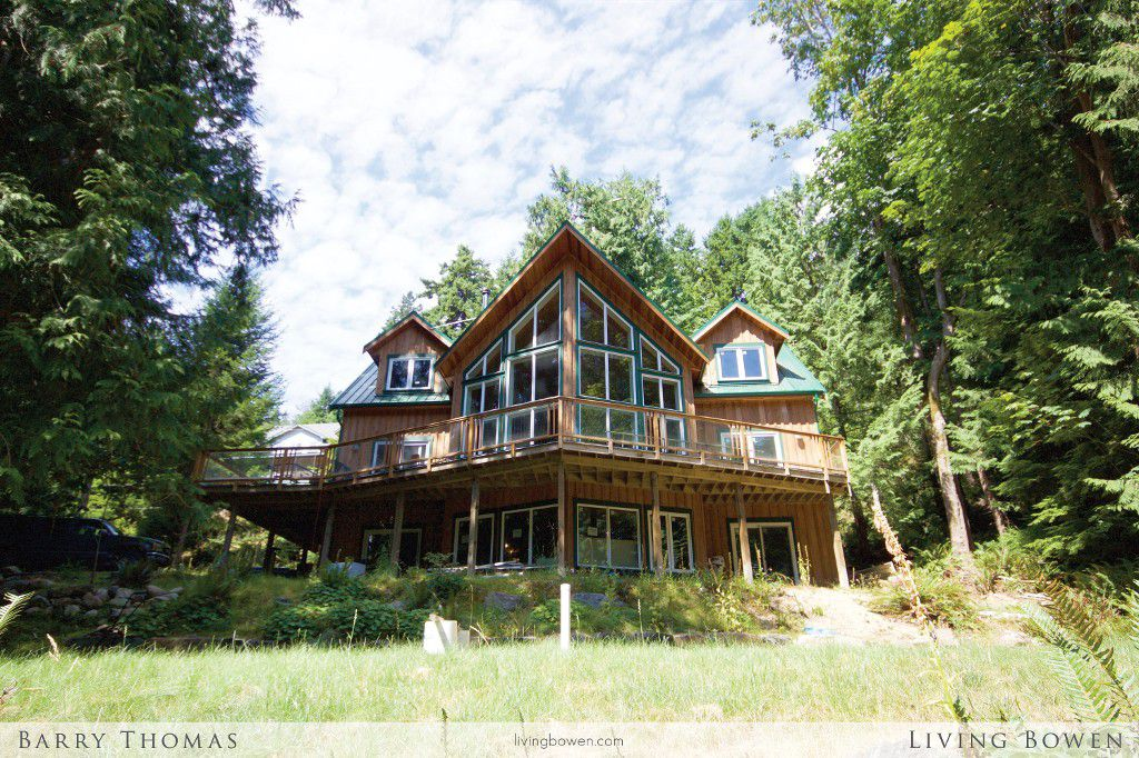 Main Photo: 1578 Old Eagle Cliff Road in Bowen Island: Eagle Cliff House for sale : MLS®# V1134426