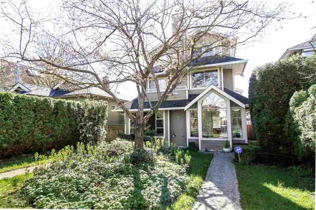 Main Photo: 3238 W 7th Ave in Vancouver: Kitsilano House 1/2 Duplex for sale (Vancouver West)  : MLS®# R2052417