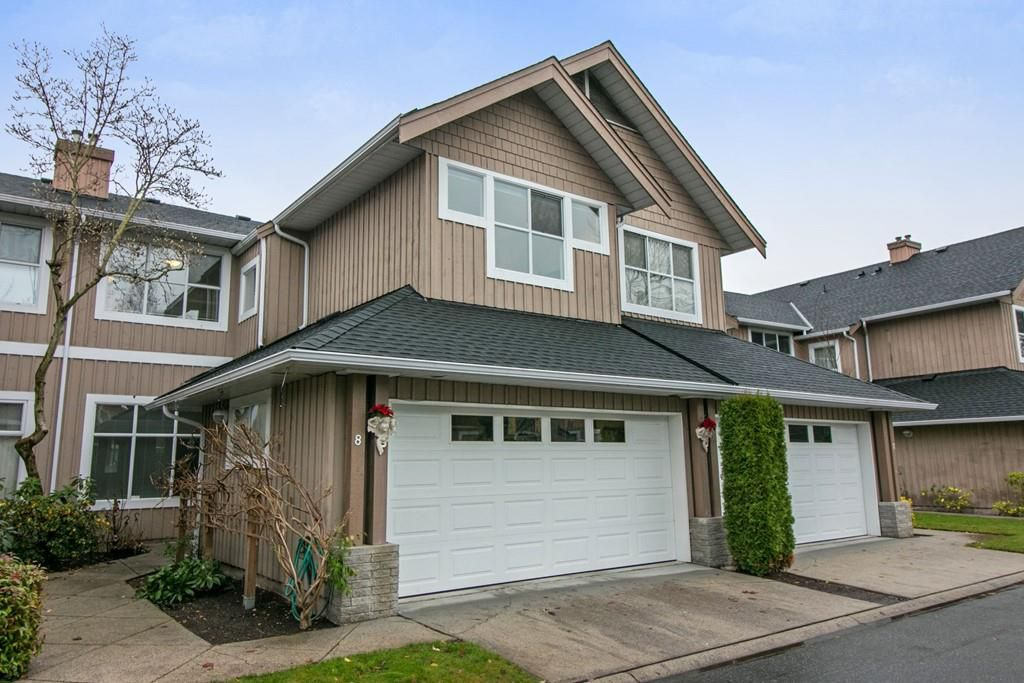Main Photo: 8 3555 WESTMINSTER HIGHWAY in Richmond: Terra Nova Townhouse for sale : MLS®# R2267372