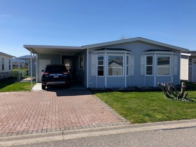 Main Photo: 60 45918 KNIGHT ROAD in Sardis: Sardis East Vedder Rd Manufactured Home for sale : MLS®# R2260651