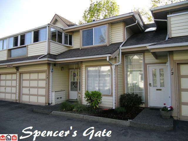 "Main Photo: 13 9965 151ST Street in Surrey: Guildford Townhouse for sale in ""Spencer's Gate"" (North Surrey)  : MLS®# F1213452"