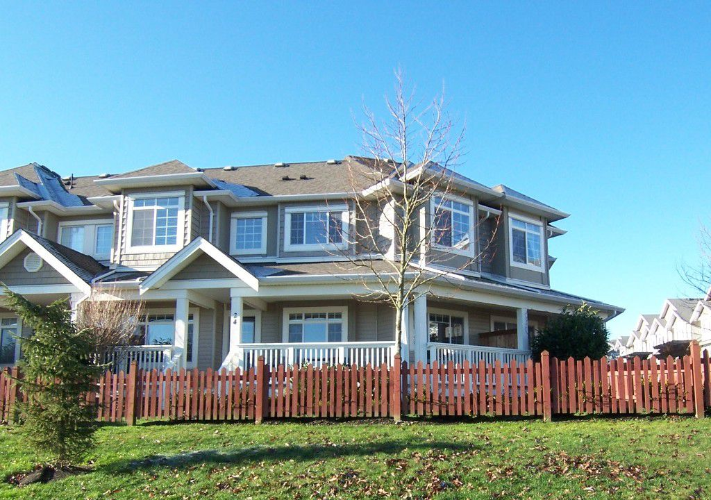 "Main Photo: 24 6852 193RD Street in Surrey: Clayton Townhouse for sale in ""INDIGO"" (Cloverdale)  : MLS®# F1301220"