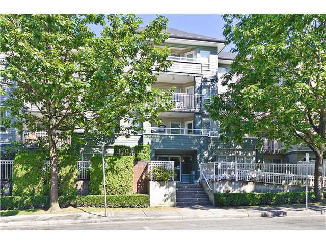 """Main Photo: 407 2439 WILSON Avenue in Port Coquitlam: Central Pt Coquitlam Condo for sale in """"AVEBURY POINT"""" : MLS®# V1027199"""