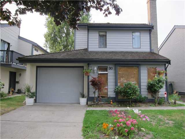 Main Photo: 30 6245 SHERIDAN Road in Richmond: Woodwards Townhouse for sale : MLS®# V1078988