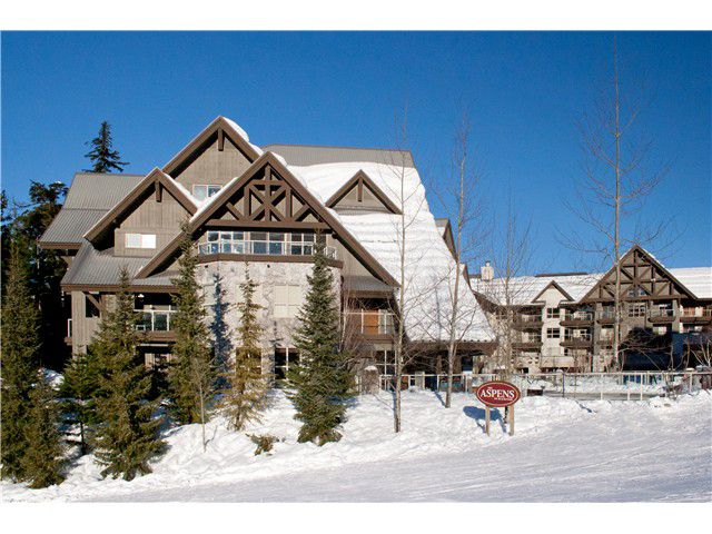 Main Photo: # 447 4800 SPEARHEAD DR in Whistler: Benchlands Condo for sale : MLS®# V1093279