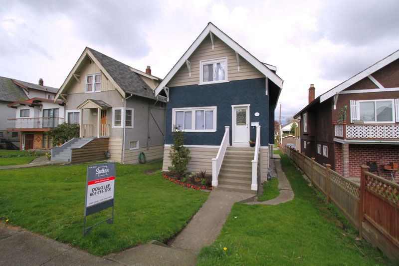Main Photo: 749 E 21ST Avenue in Vancouver: Fraser VE House for sale (Vancouver East)  : MLS®# V817047