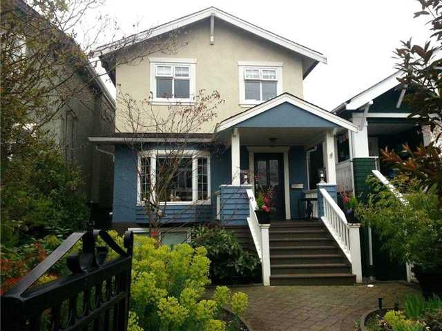 Main Photo: 2994 W 7TH Avenue in Vancouver: Kitsilano House for sale (Vancouver West)  : MLS®# V1001042