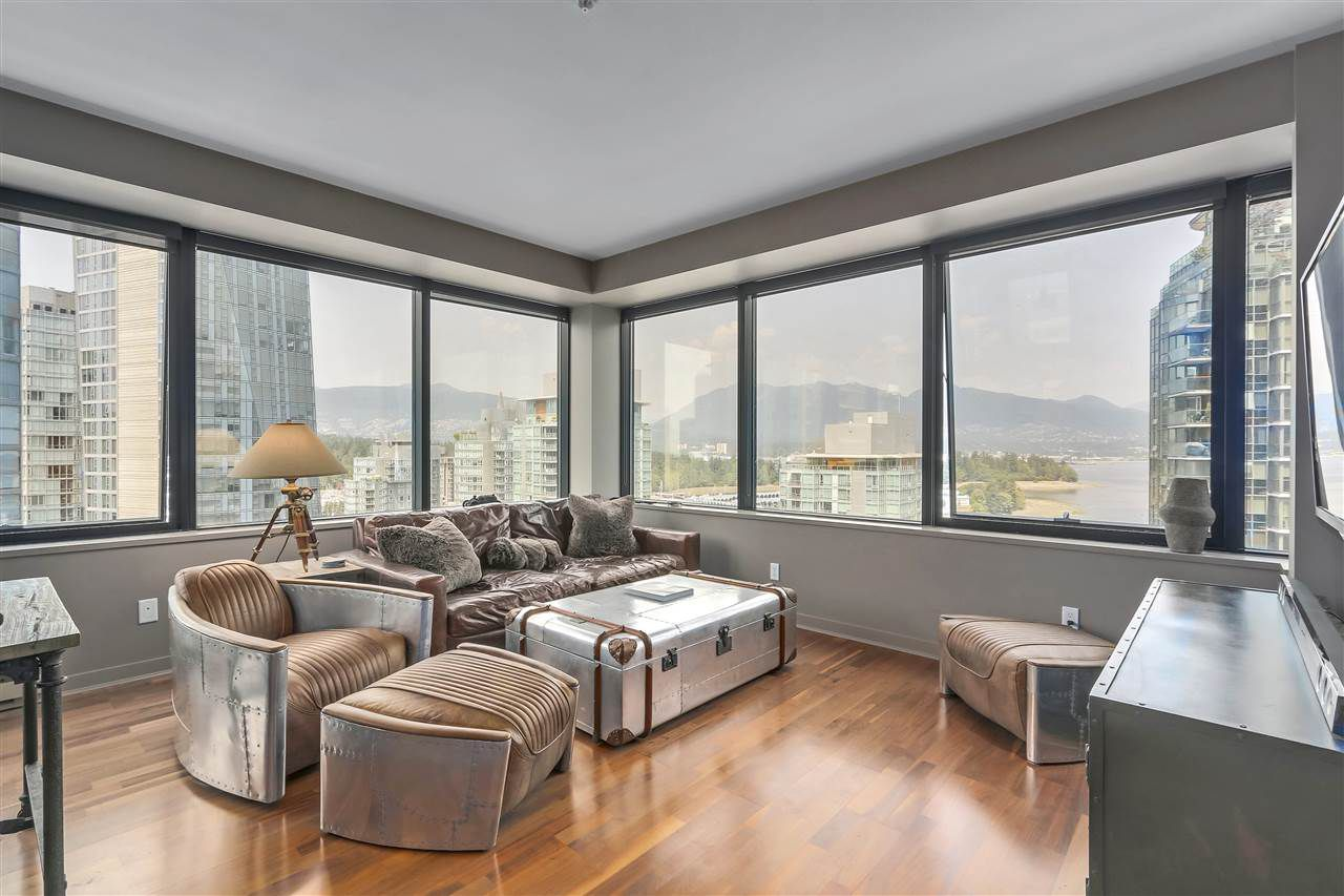Main Photo: 1302 1333 W GEORGIA STREET in Vancouver: Coal Harbour Condo for sale (Vancouver West)  : MLS®# R2315765