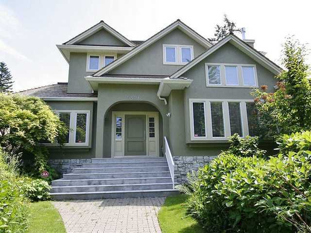 Main Photo: 5426 TRAFALGAR Street in Vancouver: Kerrisdale House for sale (Vancouver West)  : MLS®# V956684