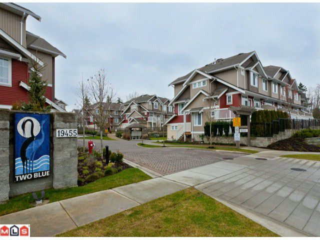 """Main Photo: 51 19455 65TH Avenue in Surrey: Clayton Townhouse for sale in """"Two Blue"""" (Cloverdale)  : MLS®# F1203766"""