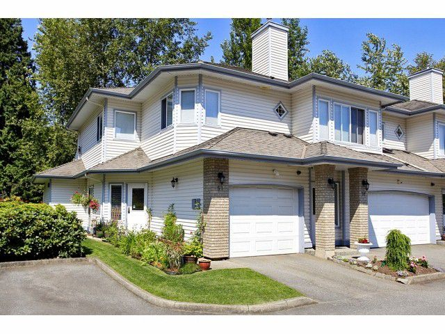 """Main Photo: 57 21579 88B Avenue in Langley: Walnut Grove Townhouse for sale in """"CARRIAGE PARK"""" : MLS®# F1228579"""