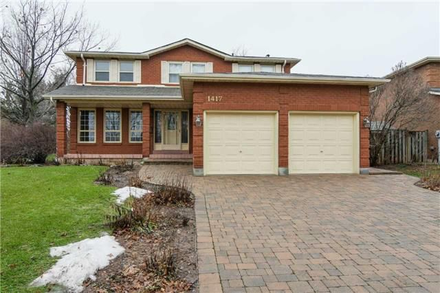 Main Photo: 1417 Kathleen Cres in Oakville: Iroquois Ridge South Freehold for sale : MLS®# W3688708
