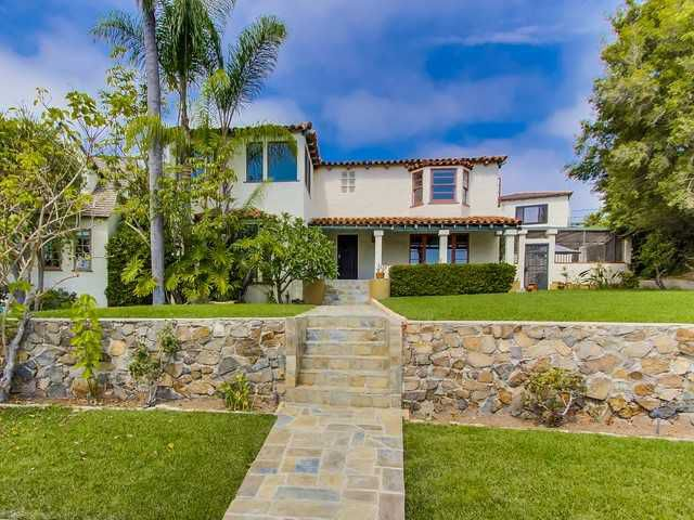 Main Photo: POINT LOMA House for sale : 4 bedrooms : 3634 Plumosa Drive in San Diego