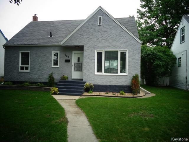 Main Photo: 369 Mandeville Street in WINNIPEG: St James Residential for sale (West Winnipeg)  : MLS®# 1417001