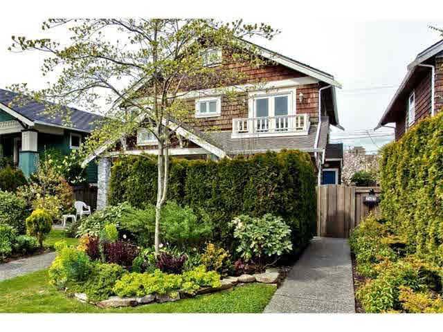 Main Photo: 2965 W 5TH AVENUE in : Kitsilano House 1/2 Duplex for sale : MLS®# V887584