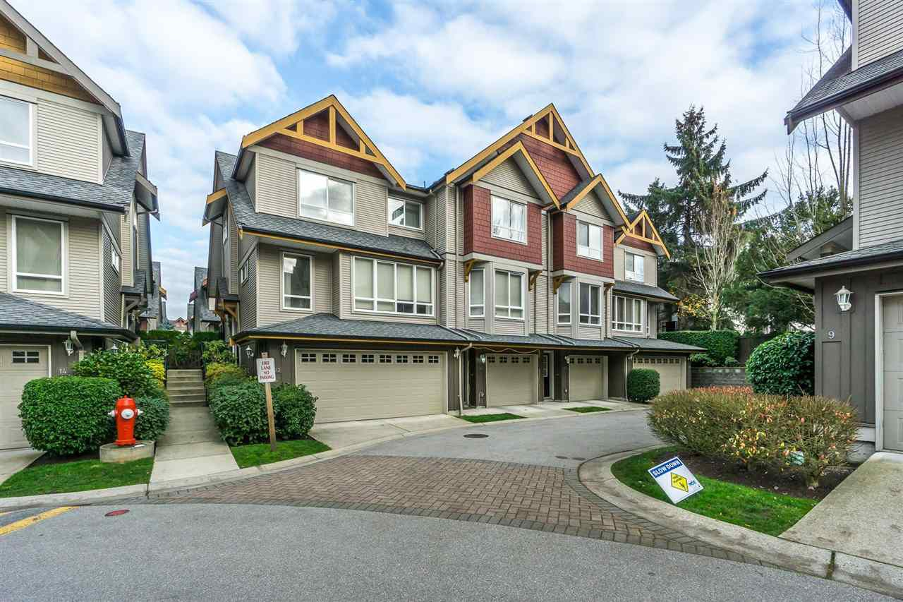 Main Photo: 11 16789 60 AVENUE in Surrey: Cloverdale BC Townhouse for sale (Cloverdale)  : MLS®# R2321082