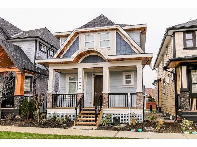 Main Photo: 17433 2B AV in Surrey: Pacific Douglas House for sale (South Surrey White Rock)  : MLS®# F1430177