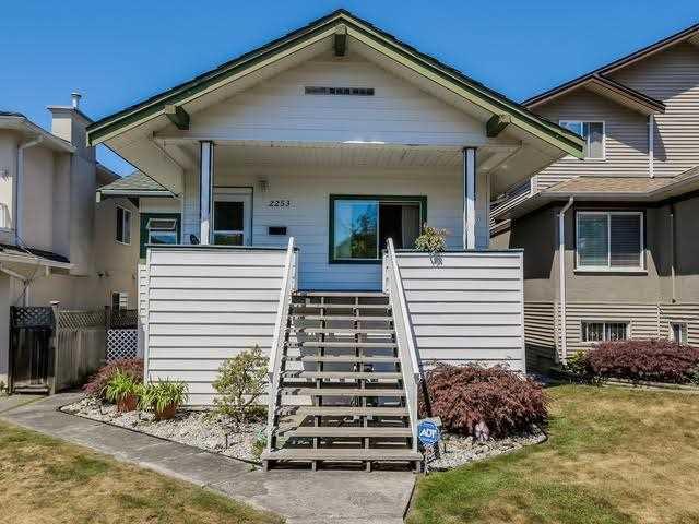 Main Photo: 2253 E 35TH AV in Vancouver: Victoria VE House for sale (Vancouver East)  : MLS®# V1132714