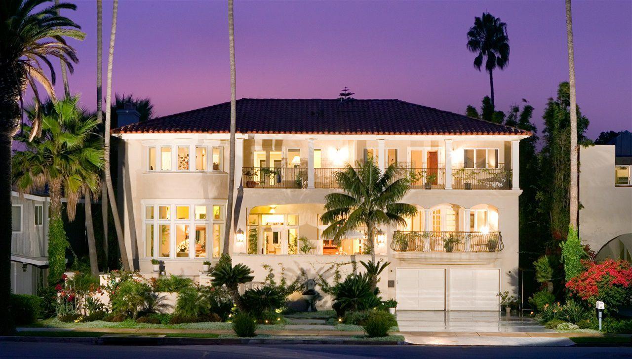 Main Photo: House for sale : 5 bedrooms : 511 Marina Avenue in Coronado