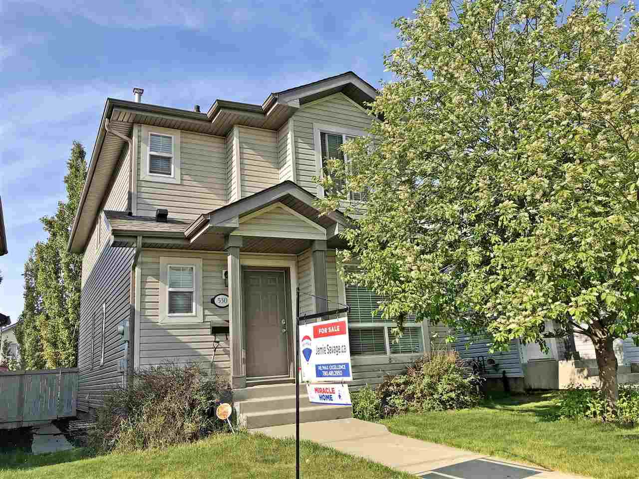 Main Photo: 530 GEISSINGER LO NW in Edmonton: Zone 58 House for sale : MLS®# E4158785