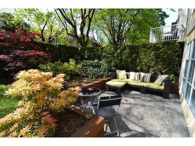 "Main Photo: 107 611 W 13TH Avenue in Vancouver: Fairview VW Condo for sale in ""Tiffany Court"" (Vancouver West)  : MLS®# V1005478"