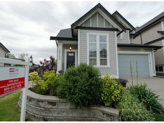 """Main Photo: 18103 70A Avenue in Surrey: Cloverdale BC House for sale in """"Provinceton"""" (Cloverdale)  : MLS®# F1315735"""