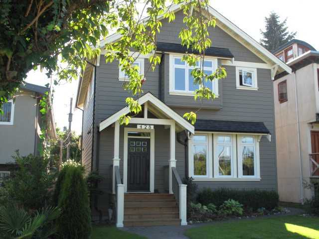 """Main Photo: 428 E 34TH Avenue in Vancouver: Fraser VE House for sale in """"Main Street"""" (Vancouver East)  : MLS®# V1026641"""