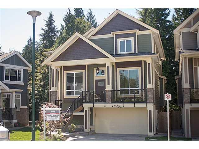 Main Photo: 3338 LESTON AV in Coquitlam: Burke Mountain House for sale : MLS®# V1023252