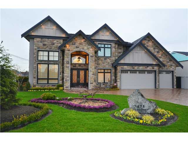 Main Photo: 7471 BROADMOOR Boulevard in Richmond: Broadmoor House for sale : MLS®# V990086