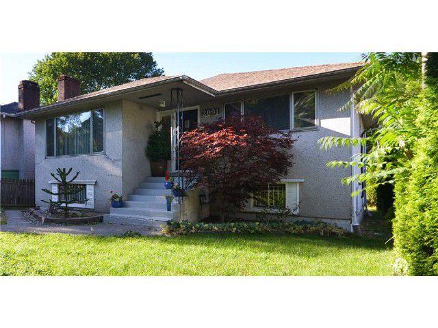 Main Photo: 2091 E 20TH AV in Vancouver: Grandview VE House for sale (Vancouver East)  : MLS®# V1013247
