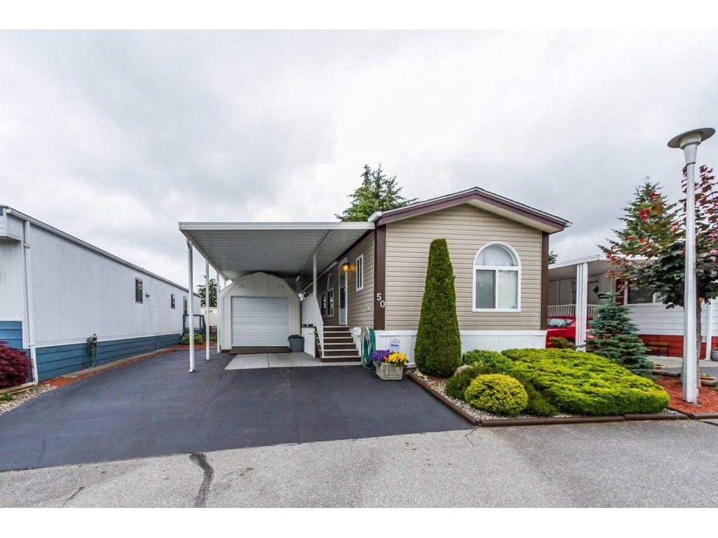 Main Photo: 50 8560 156th Street in surrey: West Newton Manufactured Home  (Surrey)  : MLS®# R2079187