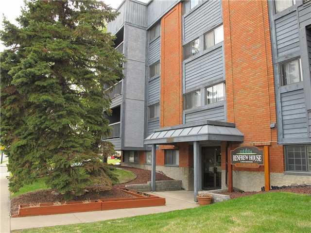 Main Photo: 205 611 8 Avenue NE in CALGARY: Renfrew Regal Terrace Condo for sale (Calgary)  : MLS®# C3518237