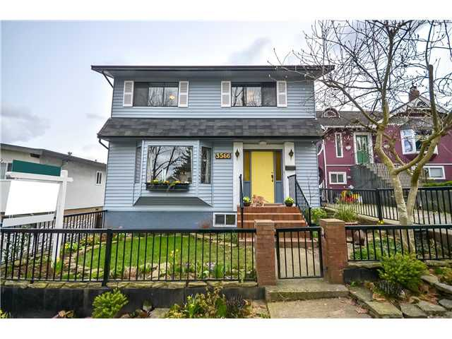 """Main Photo: 3566 GLADSTONE Street in Vancouver: Grandview VE House for sale in """"Trout Lake"""" (Vancouver East)  : MLS®# V995710"""