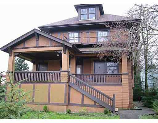 Main Photo: 1100 W 16TH AV in : Shaughnessy House for sale : MLS®# V795419