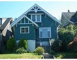 Main Photo: 116 W 20TH AV in Vancouver: Cambie House for sale (Vancouver West)  : MLS®# V549143