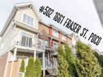 """Main Photo: 502 1661 FRASER Avenue in Port Coquitlam: Glenwood PQ Townhouse for sale in """"Brimley Mews"""" : MLS®# R2340720"""
