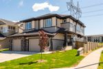 Main Photo: 8403 CUSHING Court in Edmonton: Zone 55 House Half Duplex for sale : MLS®# E4199873